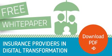 "Free Whitepaper ""Insurance Providers in Digital Transformation"""
