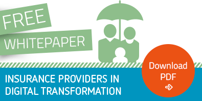 "Free Whitepaper ""Insurance Providers in Digital Transformation"""